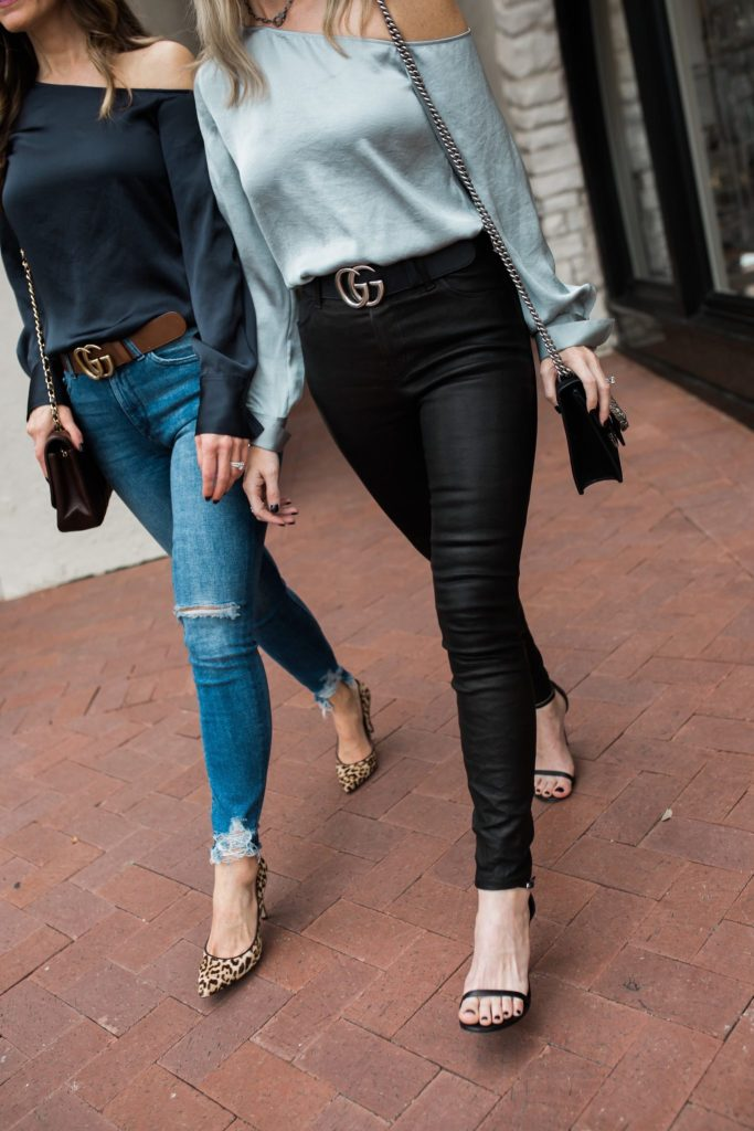 Theory Satin One-Shoulder Blouse | Street Style Squad