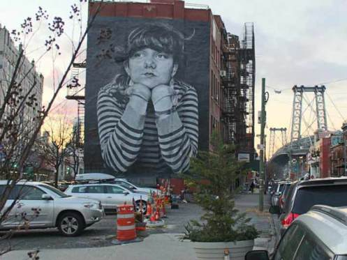 Brooklyn street art mural