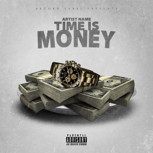 Time is Money Single Cover Template