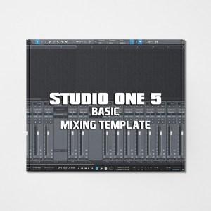 Streetz Myestro Studio One 5 - Basic Mixing Template
