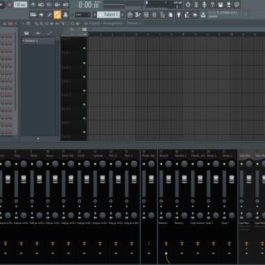 FL Studio Mixing Template