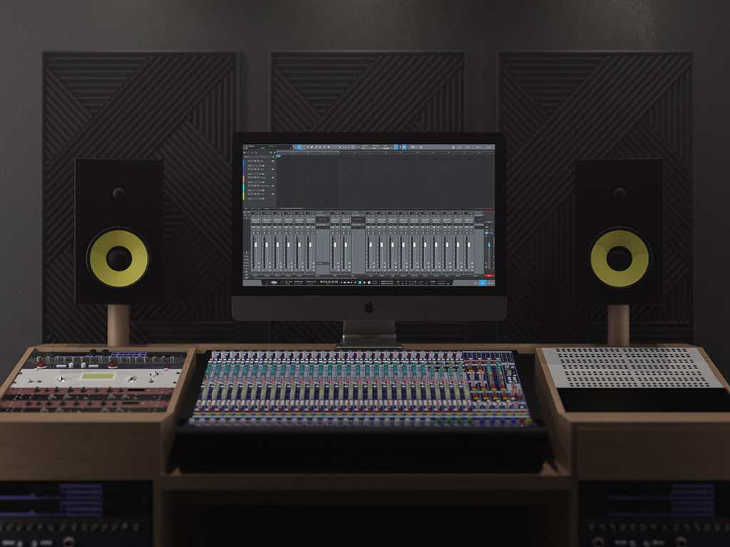 Studio One 5 - Basic Mixing Template