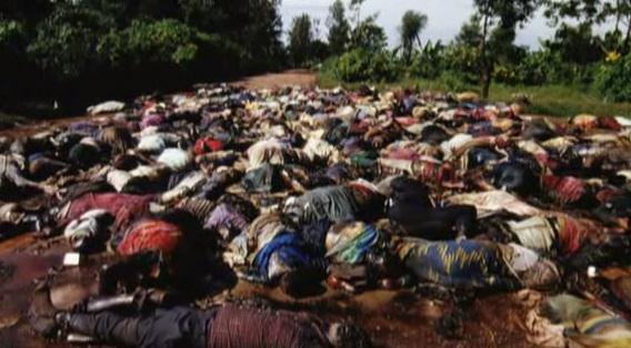 Znalezione obrazy dla zapytania ludobójstwo w rwandzie zdjecia