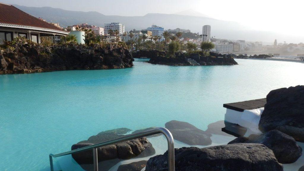 Swimming in Tenerife Sea Canary Islands  Strel Swimming