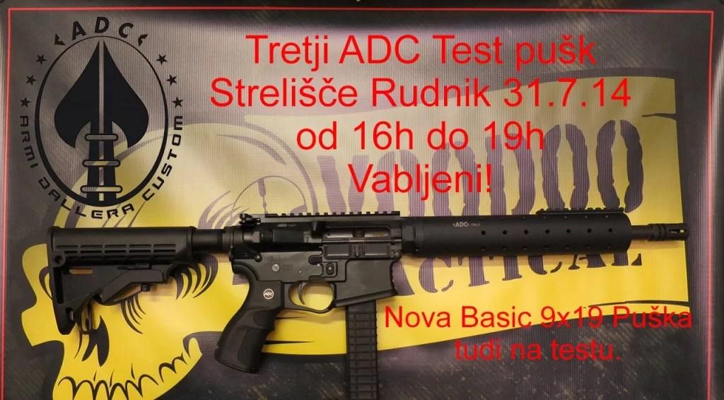 Brezplačni preizkus ADC pušk