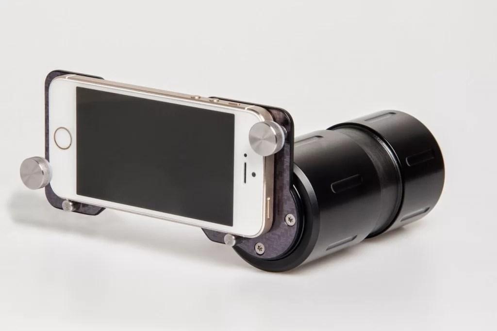 G-line adapter za foto zajem z zornega kota strelca