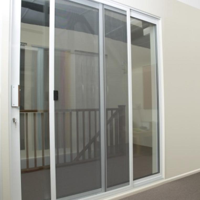 sliding fly screen for patio doors diy