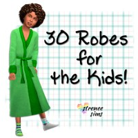 Family Robes: 30 for the Kids