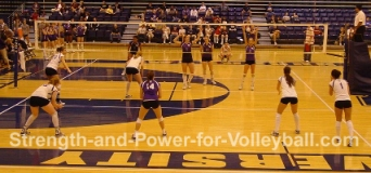 6 2 volleyball offense diagram light ray worksheets serve receive rotations for a formations