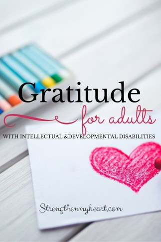 Gratitude for Adults with Intellectual and Developmental Disabilities