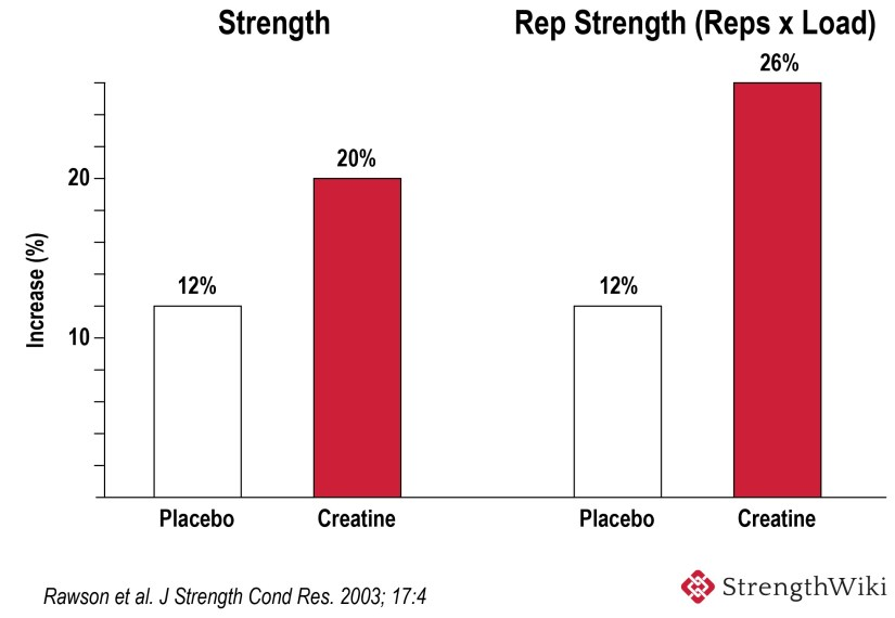 Strength Gain Creatine Vs Placebo