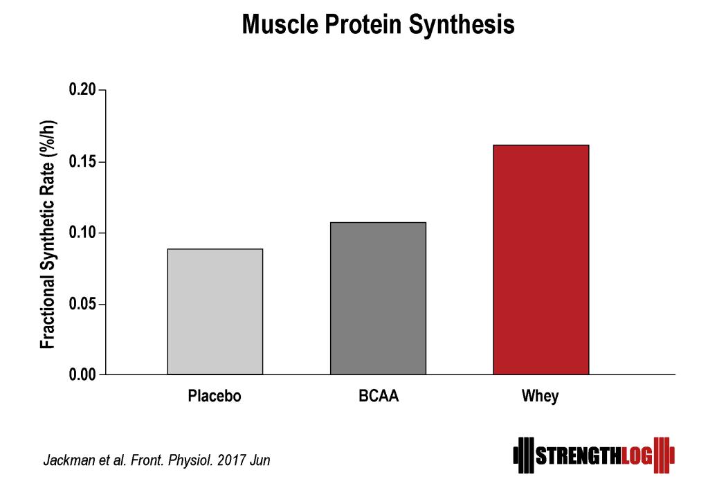 PLA vs BCAA vs Whey