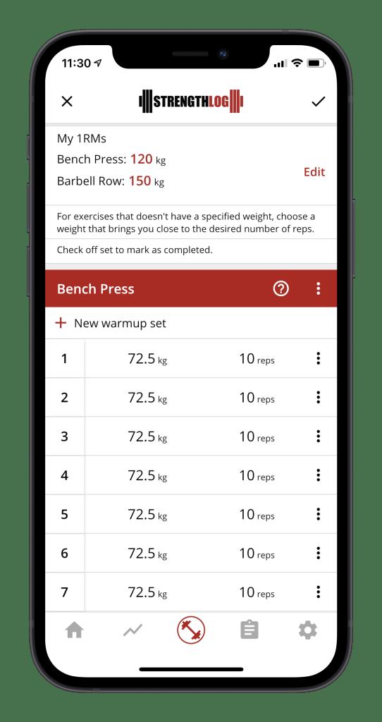 Free german volume training app 3