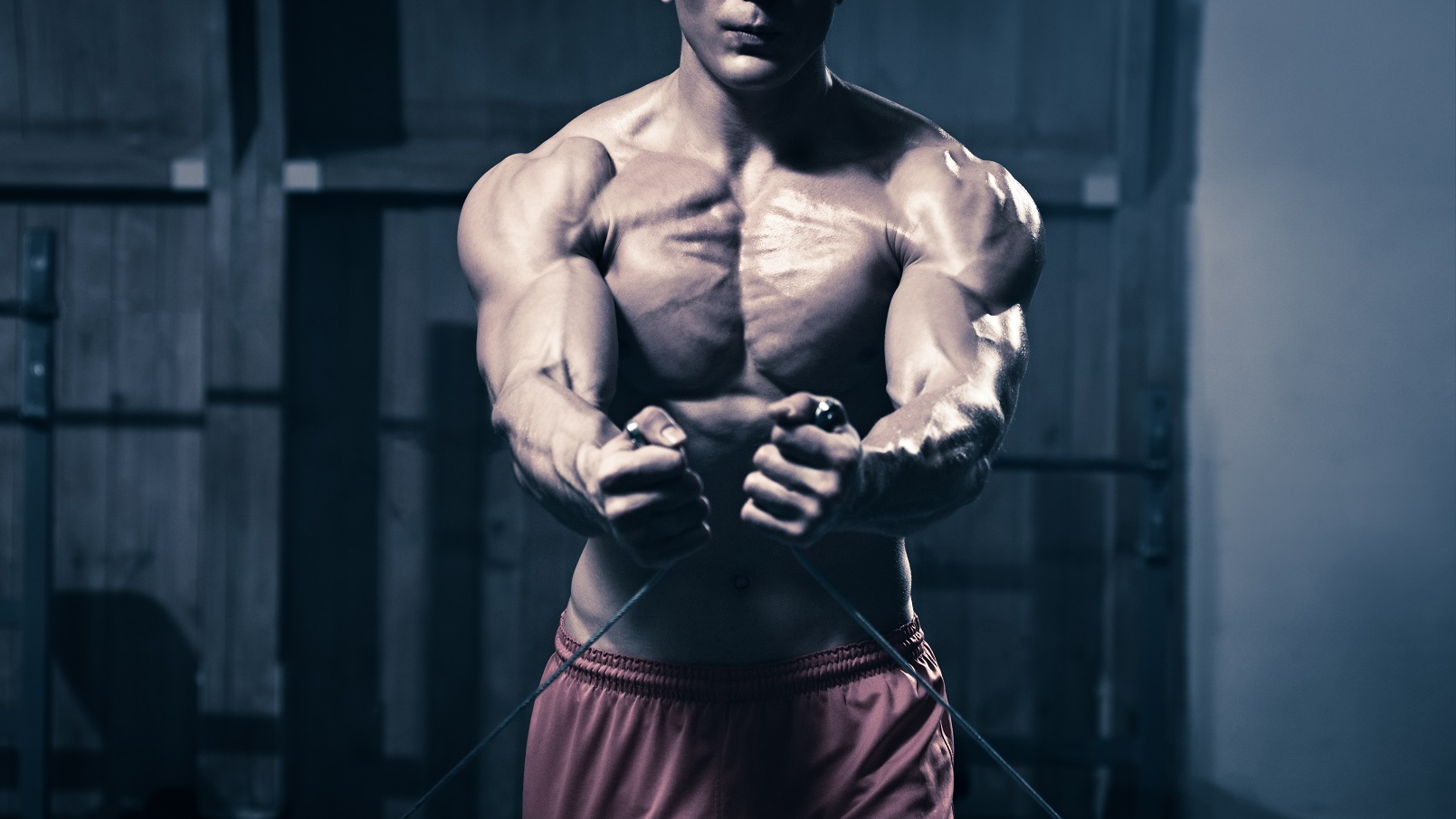 Strength training to build muscle