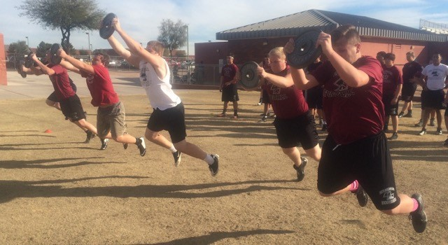 2016 6 Day Conditioning Camp Mesa