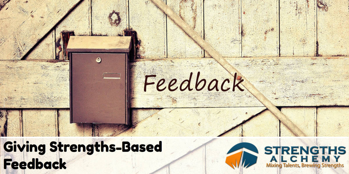 Giving Strengths-Based Feedback