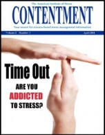 April 2014 Contentment cover