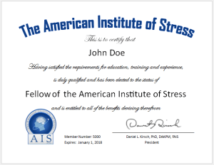 The American Institute Of Stress Transforming Stress Through