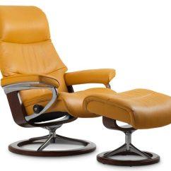 Leather Recliner Chairs Coleman Walmart Scandinavian Comfort Recliners Stressless View Signature Chair