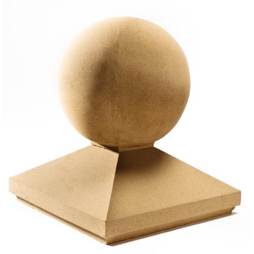 Stanton Cast Stone Pier Cap Sphere