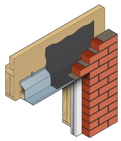 Timber frame steel lintel