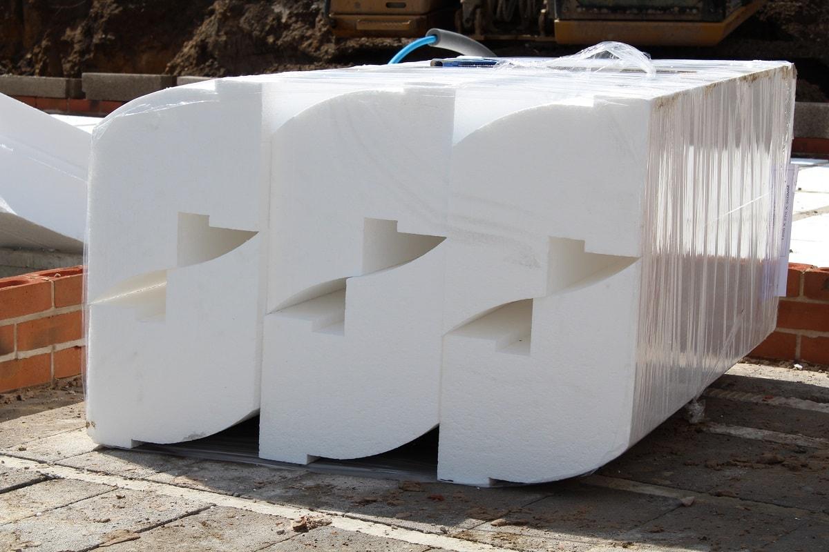 Thermal flooring infill blocks EPS grade 70
