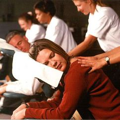 Chair Massage Seattle White Eames Lounge Corporate Can Benefit Your Employee Wellness Program Benefits