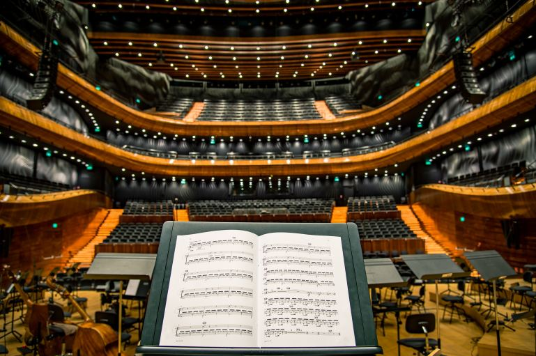 Managers are conductors of orchestras