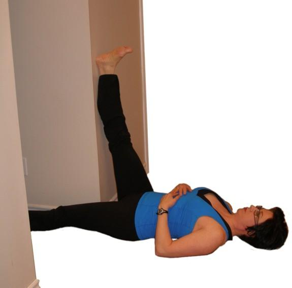 Doorway Hamstring Stretch