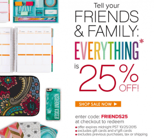 Erin Condren Life Planner Sale 25 Off Everything