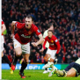 Man United 4 3 Newcastle United Cleverley The Game