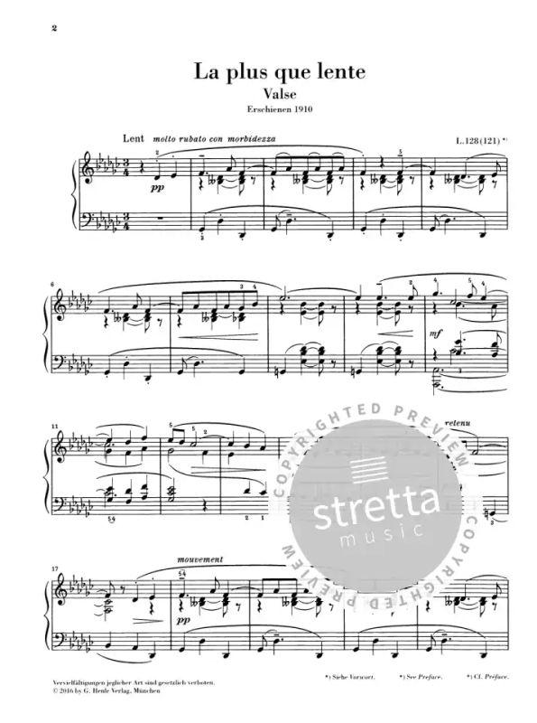 La plus que lente from Claude Debussy | buy now in Stretta sheet music shop