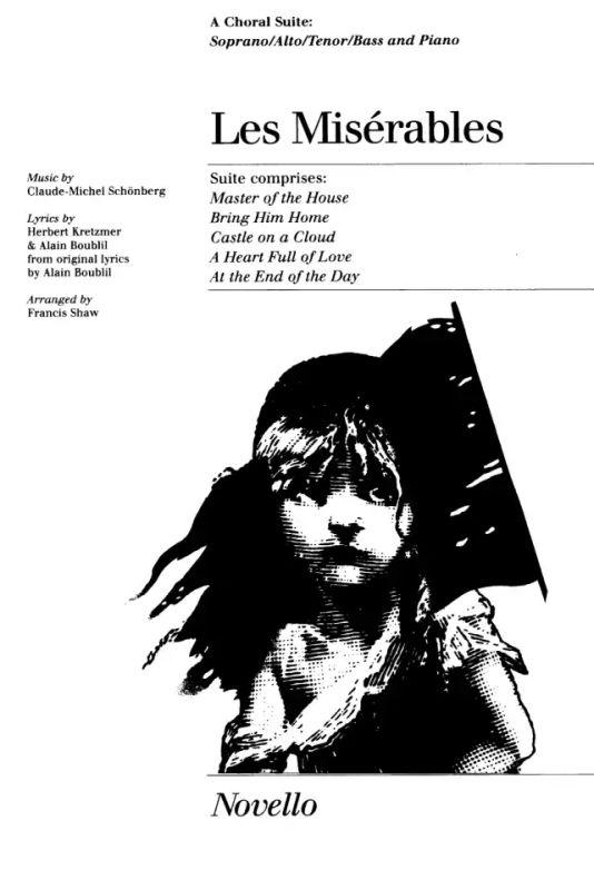 Les Miserables Choral Suite (Shaw) Satb/Pf von Alain
