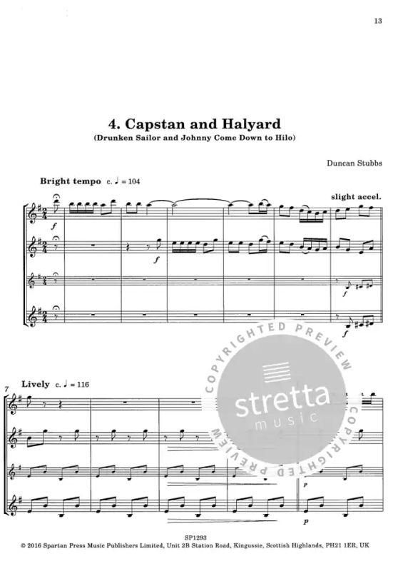 Sea Songs and Shanties for a Clarinet Crew | in de Stretta bladmuziek shop kopen