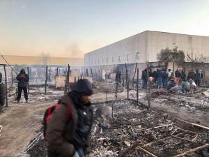incendio tendopoli san ferdinando (4)