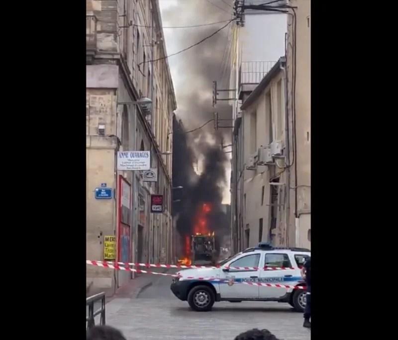 Paura in Francia: enorme esplosione spacca la città di Montpellier [VIDEO]