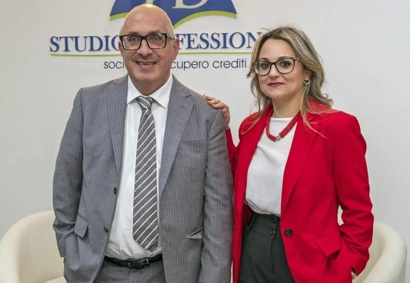 Fabio Dell'Edera e Margherita Santisi