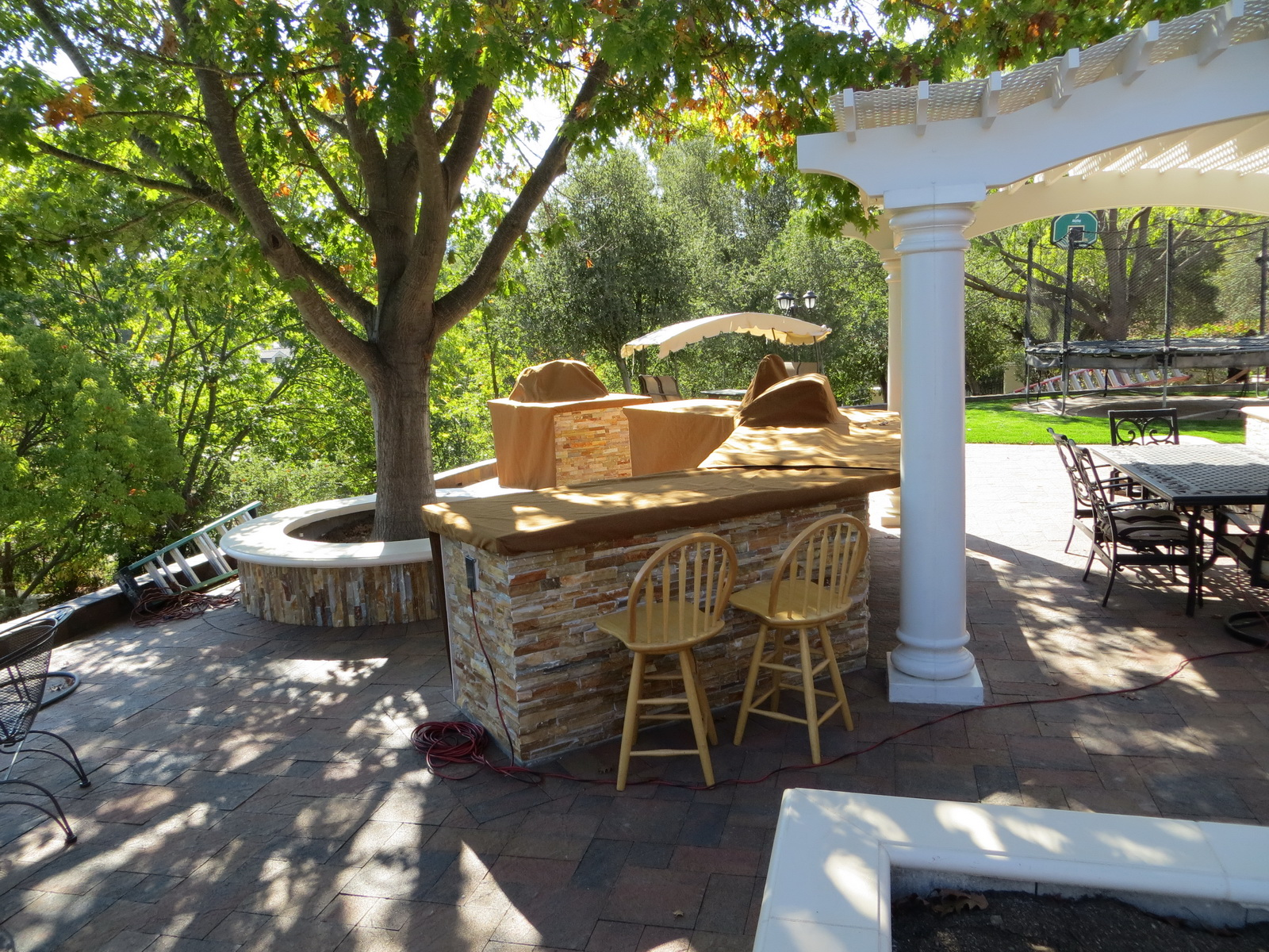 outdoor kitchen covers cost of a new residential  striblings canvas