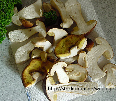 Steinpilze, porcini mushrooms