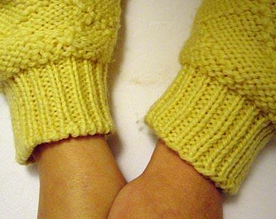 Pulloverärmel - sweater sleeves