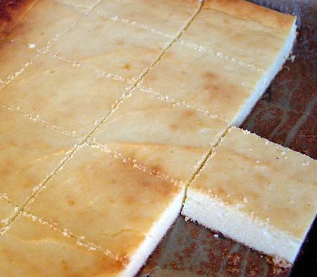 Oma Elses Käsekuchen vom Blech