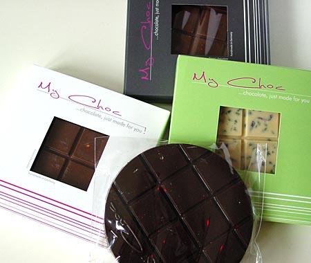 Schokolade nach eigenem Geschmack