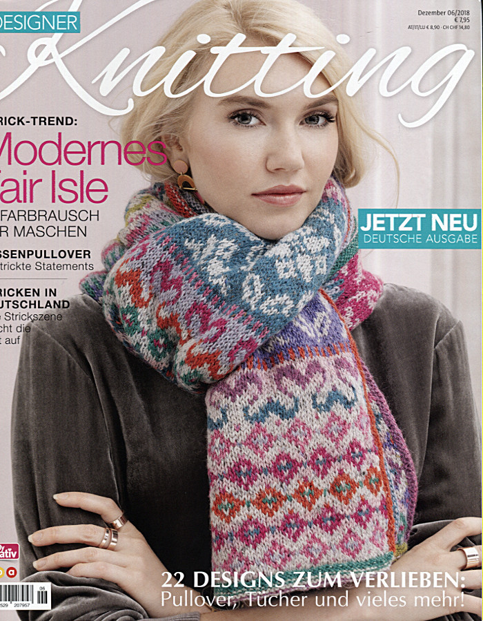 Designer Knitting Ausgabe 06/2018