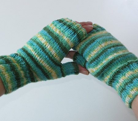 Spring Dreaming Fingerlose Handschuhe