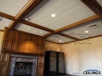 12x12 Spline Ceiling System | Strictly Ceilings Racine ...