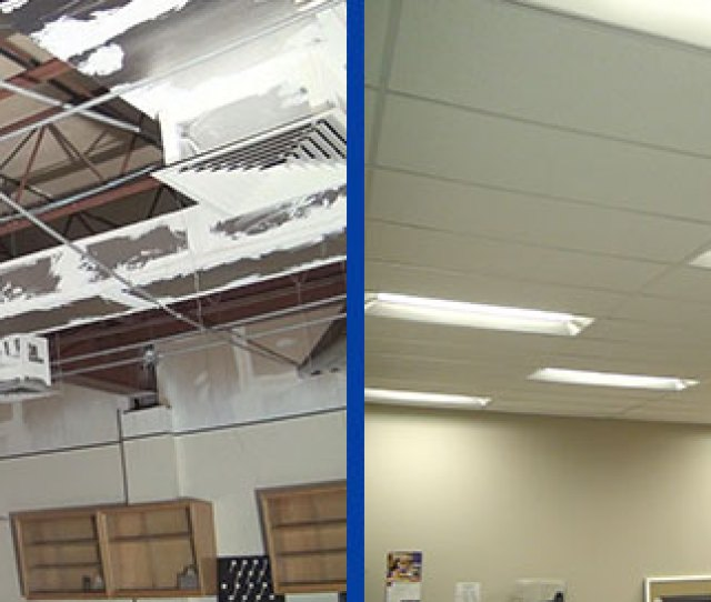 Time Conscious Ceiling Installers With Superior Workmanship And Good Humor Strictly Ceilings Have Now Completed Their Second Installation With Me