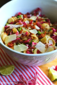 Summer Pasta Salad via StrictlyDelicious