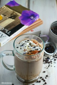 Earl Grey Hot Chocolate | StrictlyDelicious.com