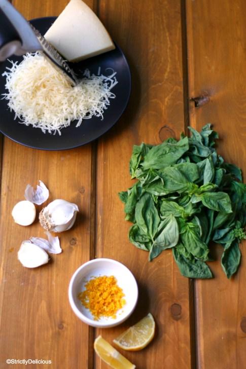 How to Make Nut Free Pesto | StrictlyDelicious.com