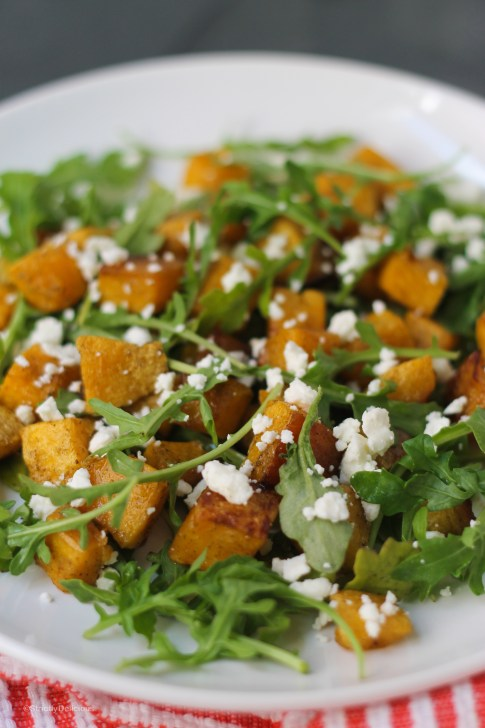 Roasted Butternut Squash Salad | StrictlyDelicious